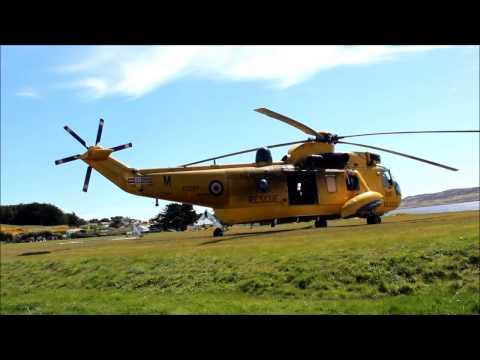 Westland Seaking Falklands Casevac
