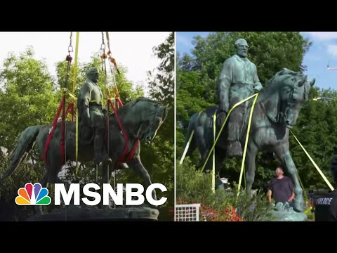 Charlottesville Removes Robert E. Lee, Lewis & Clark and Sacagawea Statues