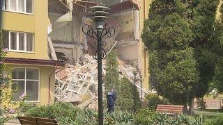 У Коломиї завалилася стіна економіко-провового коледжу
