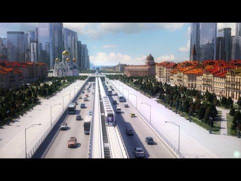 RUSSIANS WILL BILD A CITY FOR 500 BILLION EUROS