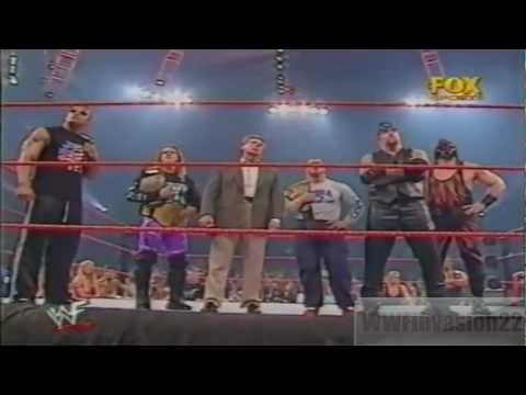 Vince Mcmahon picks team WWF.