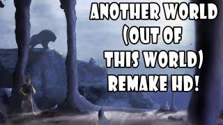 Jogos Antigos - PC - Another World (Out Of This World) - REMAKE HD - VOCÊ TEM QUE JOGAR!