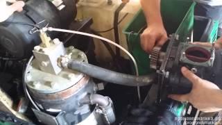 Ремонт винтового блока компрессора ATMOS PDP((343) 328-50-95 Ремонтируем винтовые блоки электрических и дизельных компрессоров компрессоров отечественных..., 2014-07-23T16:31:23.000Z)