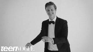 Watch Ansel Elgort Dance Through the Decades at His Teen Vogue Cover Shoot