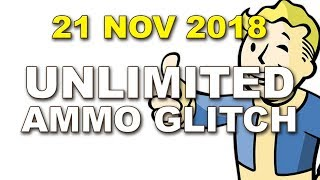 Unlimited Ammo Glitch Working 21 November 2018 for Fallout 4