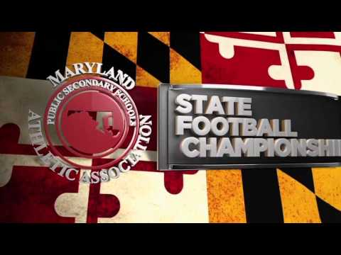 MPSSAA Maryland HIgh School Football Championships on The CW Baltimore channel 54