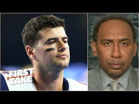 Stephen A. Isn't Sold On Jarrett Stidham As The Patriots' Next Franchise QB   First Take