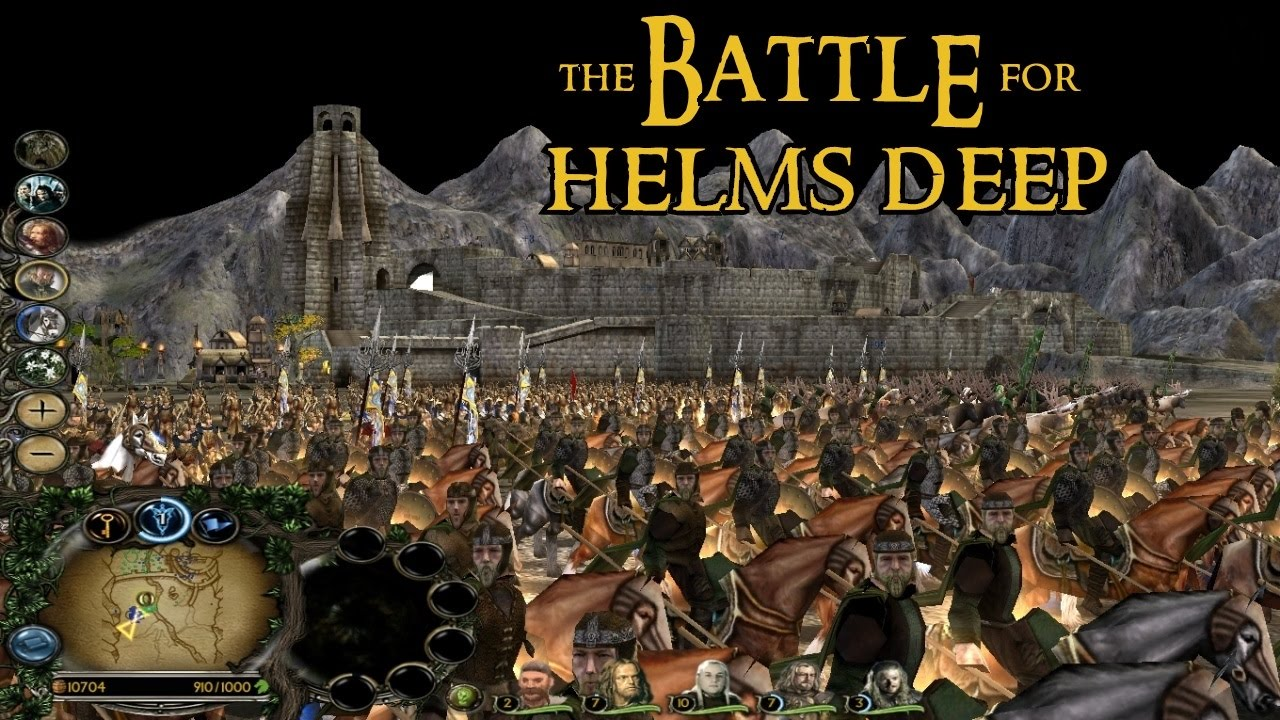 Lord Of The Rings Battle Of Helm S Deep