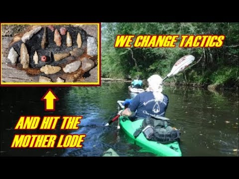 Arrowhead Hunting - We Change Tactics and Hit The Mother Lode - A Cure For Projectile Disfunction