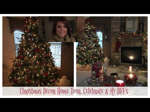 Christmas Decor Home Tour, Celebrate & My BFF's | Karen's Vlog