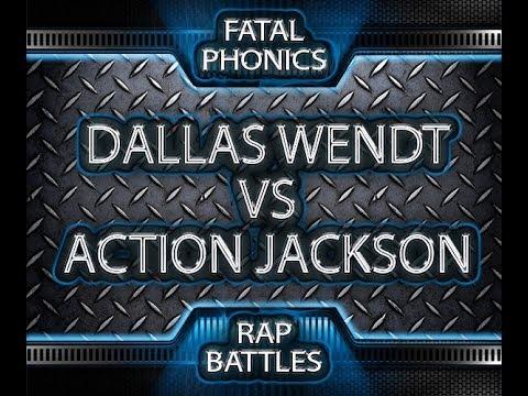 Dallas Vs Action Jackson Title Match (Fatal Phonics Rap Battles)