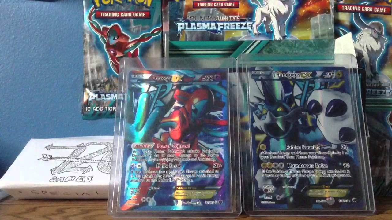 Pokemon Card of the Day: Deoxys EX Card (Plasma Freeze 111/ - YouTube