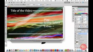 How to Make Adobe Encore Menus in Photoshop