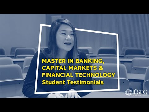Master of Science in Investment Banking and Capital Markets - Students Testimonials - IÉSEG
