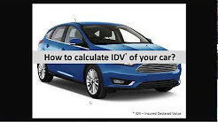 How to calculate IDV of your car in just 10 seconds | Insurance Premium Calculator | Mobinsure