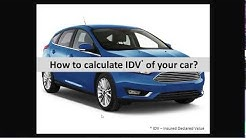 How to calculate IDV of your car in just 10 seconds   Insurance Premium Calculator   Mobinsure