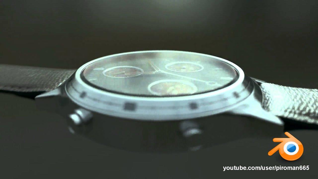 Blender cycles  watch rendering  YouTube