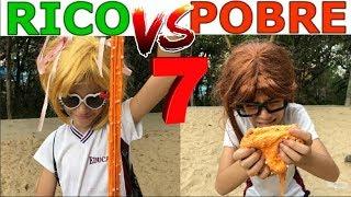 RICO VS POBRE FAZENDO AMOEBA / SLIME #7
