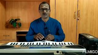 Manasu Palike Mouna Geetham Song With Swaram | Swathi Muthyam Movie| by Vachaspathi ( K.Ramesh)