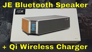 JE Bluetooth Speaker + Qi Wireless Charger - This is awesome!