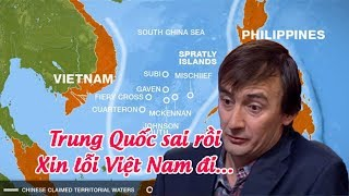 Đường lưỡi bò – Chuyên gia quốc tế chỉ ra sự ngu dốt của Trung Quốc !