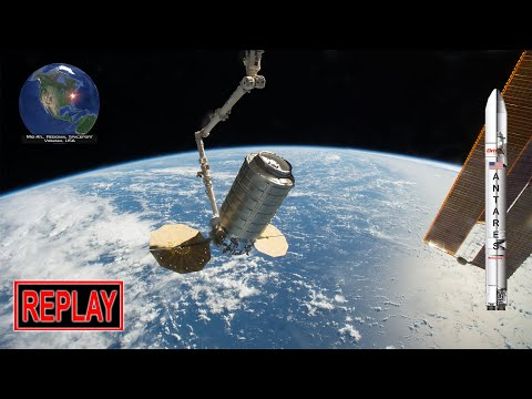 REPLAY: Antares NG-11 Rocket Launch With Cygnus CRS-11 Cargo Freighter To ISS (4/17/2019)