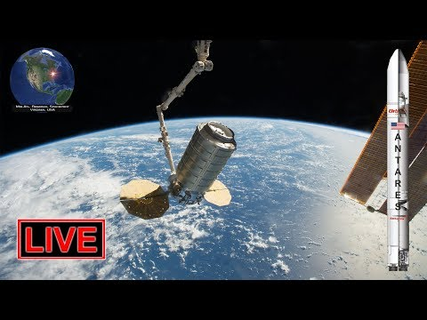 LIVE: Antares NG-11 rocket launch with Cygnus CRS-11 cargo freighter to ISS!