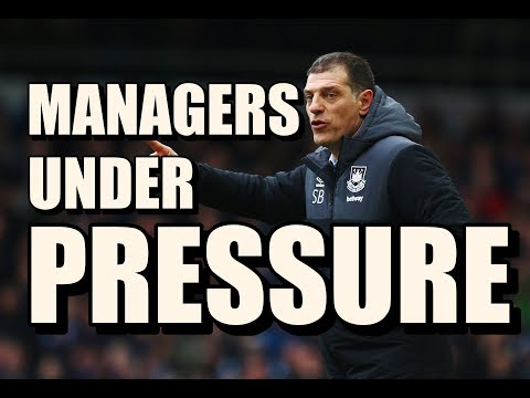 5 Premier League Managers Under Pressure This Weekend