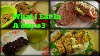 What I Eat In A Day! - Cosa Mangio in un giorno #3 |RicetteFelici
