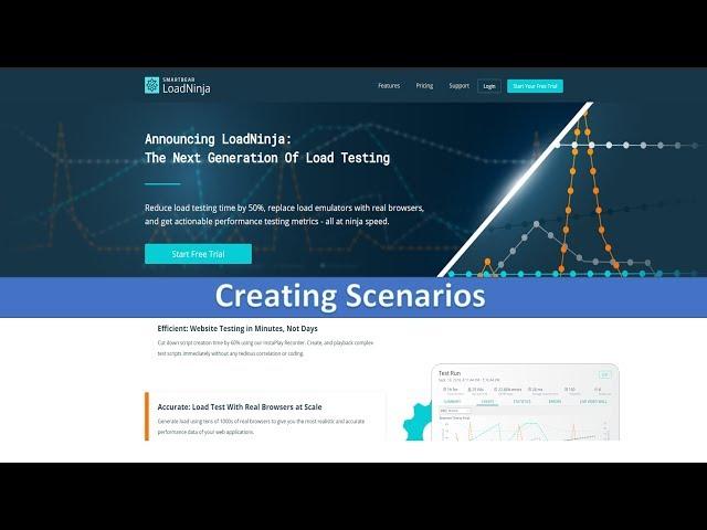 Configuring Scenarios in LoadNinja