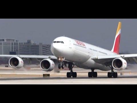 Iberia Airbus A340-600 New Livery (EC-LEU) - Chicago O'Hare Plane Spotting