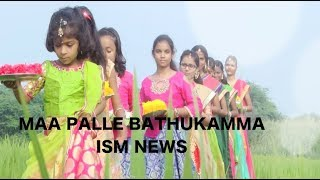 Bathukamma Special Song 2018 In ISM NEWS.