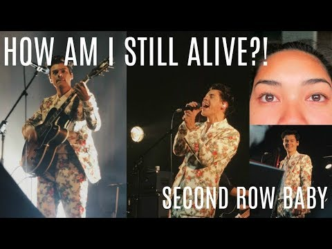HOW AM I STILL ALIVE? - HARRY STYLES CONCERT VLOG | virtuallykobe