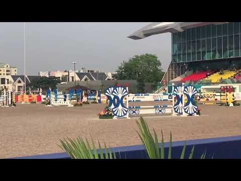 Patrick Lam Jumping Competition At 18th Asian Games Jakarta Palembang