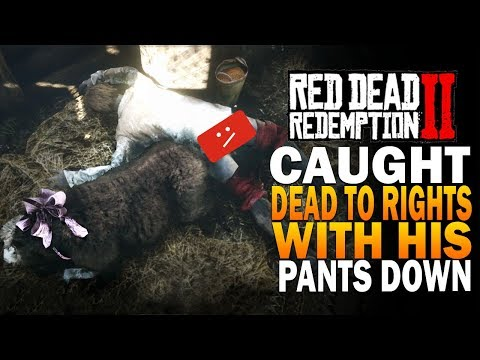 Caught Dead To Rights with His Pants Down  - Red Dead Redemption 2 Secret Love Story thumbnail