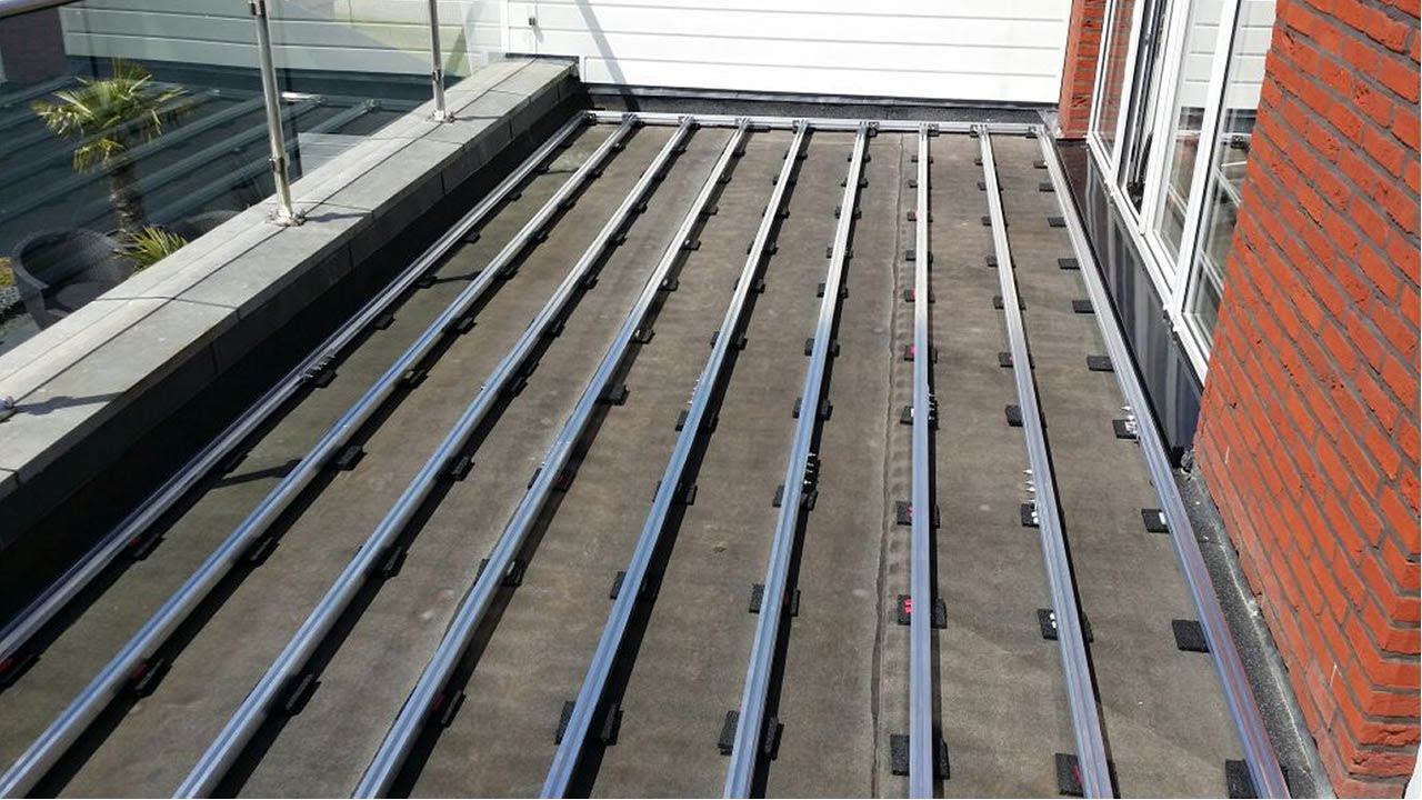 Aslon Terrace Decking Substructure System Installation
