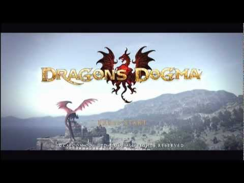 Dragons Dogma Title Screen