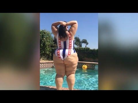 7db6b6d7525 Swimsuit Fashion Haul 🔥Plus Size Shapewear Bodysuit 🔥Stylish Beach ...