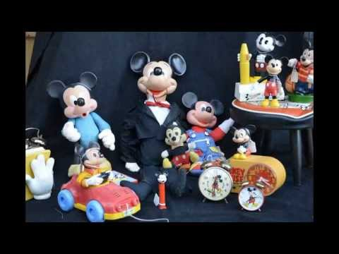 MICKEY MOUSE Collectables Collection in Dallas, Texas from YouTube · Duration:  2 minutes 8 seconds