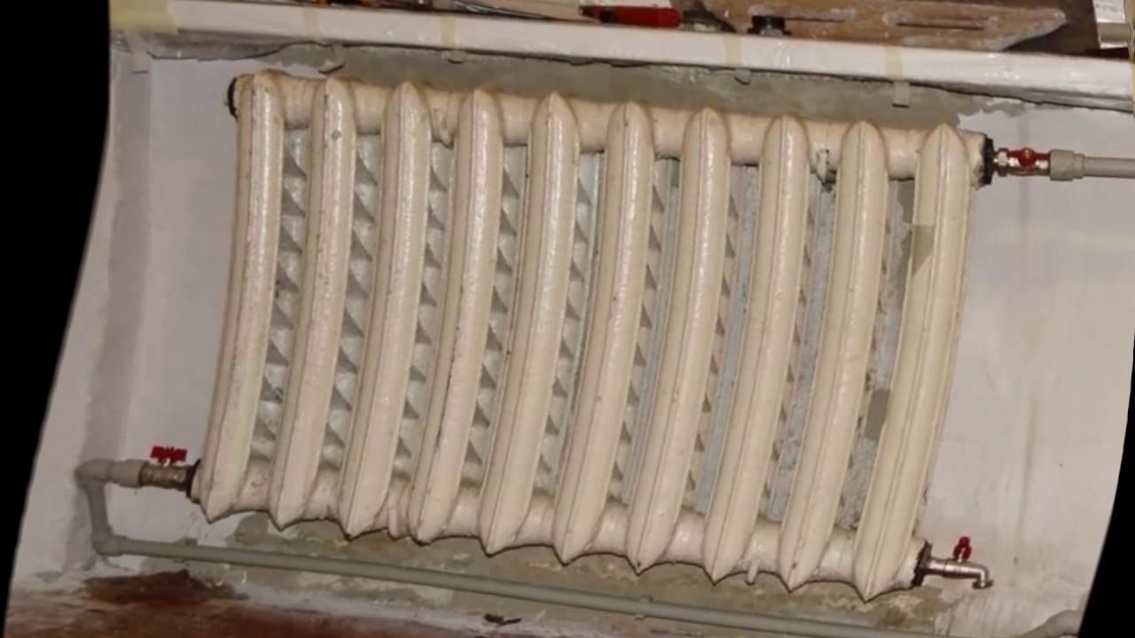 Как помыть батареи отопления в доме внутри и снаружи