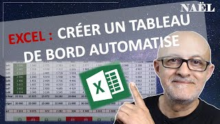 Excel Tableau De Bord Automatise Automated Dashbord Subtitle In English Youtube