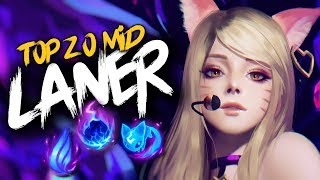 Top 20 MID LANER Plays #19 | League Of Legends