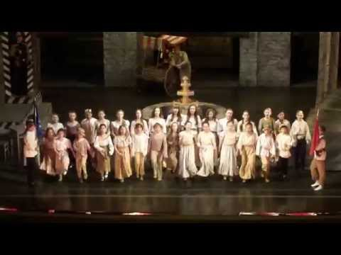 Bizet CARMEN Street-children choir in the Lviv Opera, Львівський оперний театр