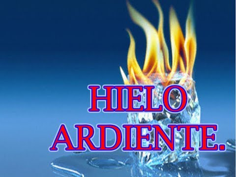 hielo combustible,