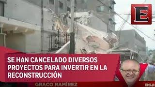 Graco Ramírez habla sobre la reconstrucción de Morelos
