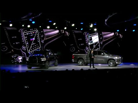 Ram unveils redesigned 2018 1500 pickup at Detroit auto show