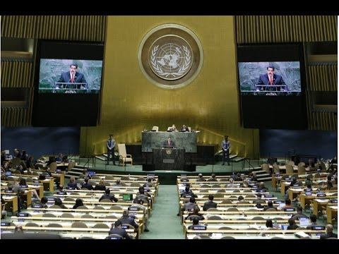 World leaders give speeches at the United Nations