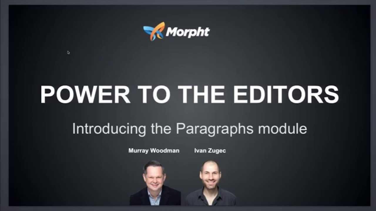 Drupal 8 Module of the Week: Paragraphs