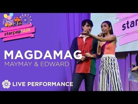 Maymay & Edward - Magdamag  StarPop Fair