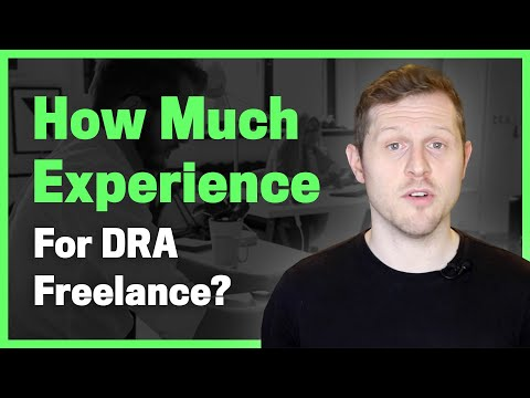 How much experience do I need to be a Design Recruitment Agency freelancer?
